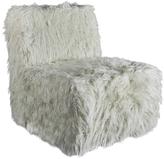 Urbia Faux Fur Harmony Slipper Chair