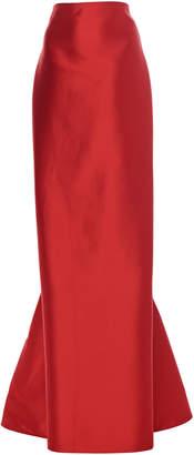 Leal Daccarett Norma Modified A-Line Taffeta Skirt