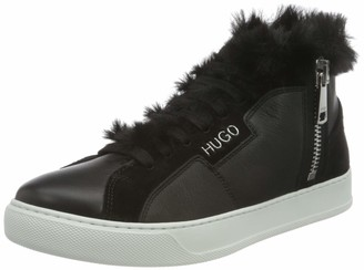 HUGO BOSS Men's Lily Fur ZipSneakerC Sneaker