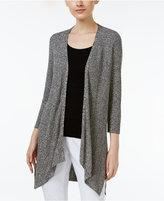 Eileen Fisher Tencel-Knit Draped Cardigan, Regular & Petite