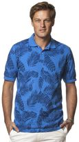 Chaps Big & Tall Classic-Fit Palm Leaf Polo