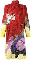 J.W.Anderson puzzle shirt coat - men - Cotton - 48