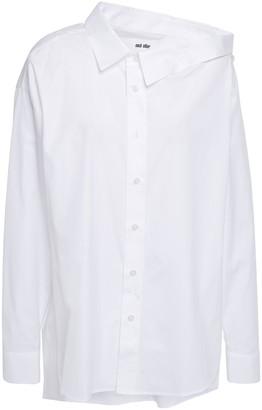 Each X Other Cutout Cotton-poplin Shirt