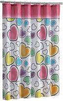 JCPenney JCP Hearts Shower Curtain