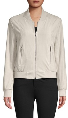 DOLCE CABO Zip-Up Bomber Jacket