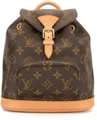 Louis Vuitton Pre Owned 1999 mini Montsouris backpack