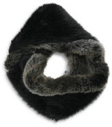 Parkhurst Faux Fur Two-Tone Infinity Scarf