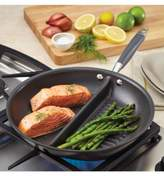 "Anolon Advanced Nonstick 12"" Divided Grill & Griddle Skillet"