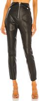 Camila Coelho Lindo Leather Leggings