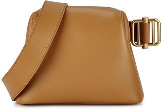 Osoi Brot mini camel leather cross-body bag