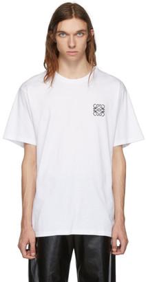 Loewe White Anagram T-Shirt