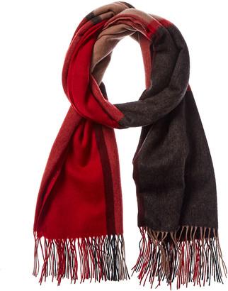 Forte Cashmere Plaid Wool Scarf