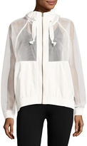 Reebok S Faves Mesh Jacket with Hood