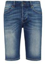 HUGO BOSS Orange 90 Short Cotton, 11 oz Denim Shorts 32 Blue
