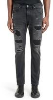 Helmut Lang Men's Mr87 Destroyed Jeans
