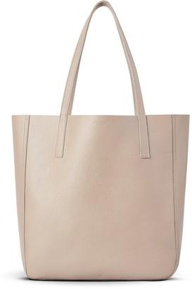 Shinola Double Face Leather Medium Shopper Tote