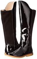 Elephantito Color Block Tall Boot (Toddler/Little Kid/Big Kid) (Black) Girls Shoes