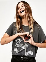 Bugs Bunny Graphic Tee by Looney Tunes by Trunk for Free People