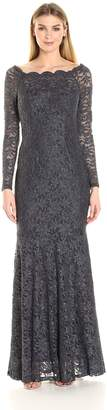 Decode 1.8 Women's Off Shoulder Lace Gown