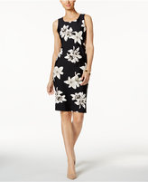 Charter Club Floral-Print Sheath Dress, Only at Macy's