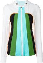 NO KA 'OI No Ka' Oi - zipped hooded jacket - women - Polyamide/Spandex/Elastane - XS