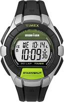 Timex Unisex Quartz Watch with LCD Dial Digital Display and Black Resin Strap TW5K95800