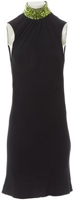 Gianni Versace Black Silk Dress for Women Vintage