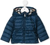 Burberry 'Janie' puffer jacket - kids - Feather Down/Polyester - 9 mth