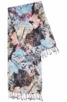Foulard léger en coton et modal