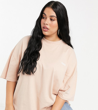 ASOS 4505 Curve oversized cotton t-shirt