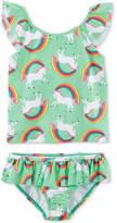 Carter's 2-Pc. Unicorn-Print Tankini Swimsuit, Little Girls & Big Girls