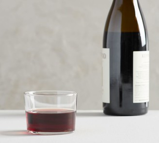 Pottery Barn Spanish Bodega Stemless Wine Glasses, Set of 6
