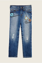 True Religion Geno Patchwork Kids Jean