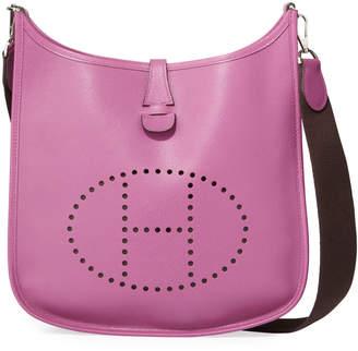 Hermes Evelyne Epsom Crossbody Bag, Purple