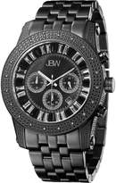 "JBW Men's JB-6219-L ""Krypton"" Black Chronograph Diamond Watch"