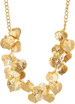 Kenneth Jay Lane WOMEN'S BRANCH & LEAF NECKLACE-GOLD