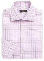 Ike Behar Cotton Overcheck Shirt