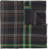 Gucci long plaid scarf