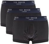Ted Baker Underwear Davinci 3 Pack Boxer Set Black
