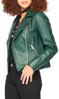 Miss Selfridge Leatherette Biker Jacket