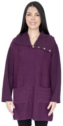 Margaret Winters Cotton Burgundy Tunic