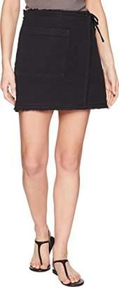 Splendid Women's Faux Wrap Skirt
