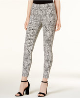 Bar III Printed Skinny Pants, Created for Macy's