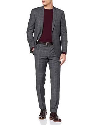Strellson Premium Men's Allen-Mercer AMF Suit, Medium Grey 030