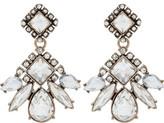 The Two Mrs Grenvilles DIAMOND MULTI STONE DROP EARRING