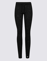 M&S Collection Reflective Print Leggings