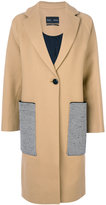 Proenza Schouler statement pocket oversized coat - women - Polyamide/Polyester/Viscose/Virgin Wool - 2