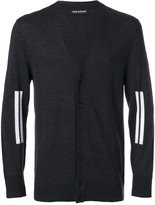 Neil Barrett double line detail cardigan