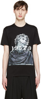 Givenchy Black Jesus & Numbers T-Shirt