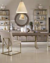 Century Furniture Kendall Metal Base Dining Table